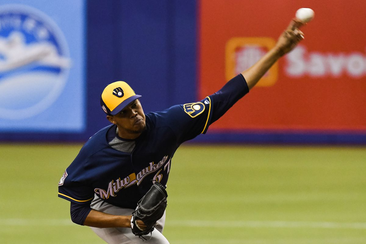 MLB: MAR 26 Spring Training - Brewers at Blue Jays