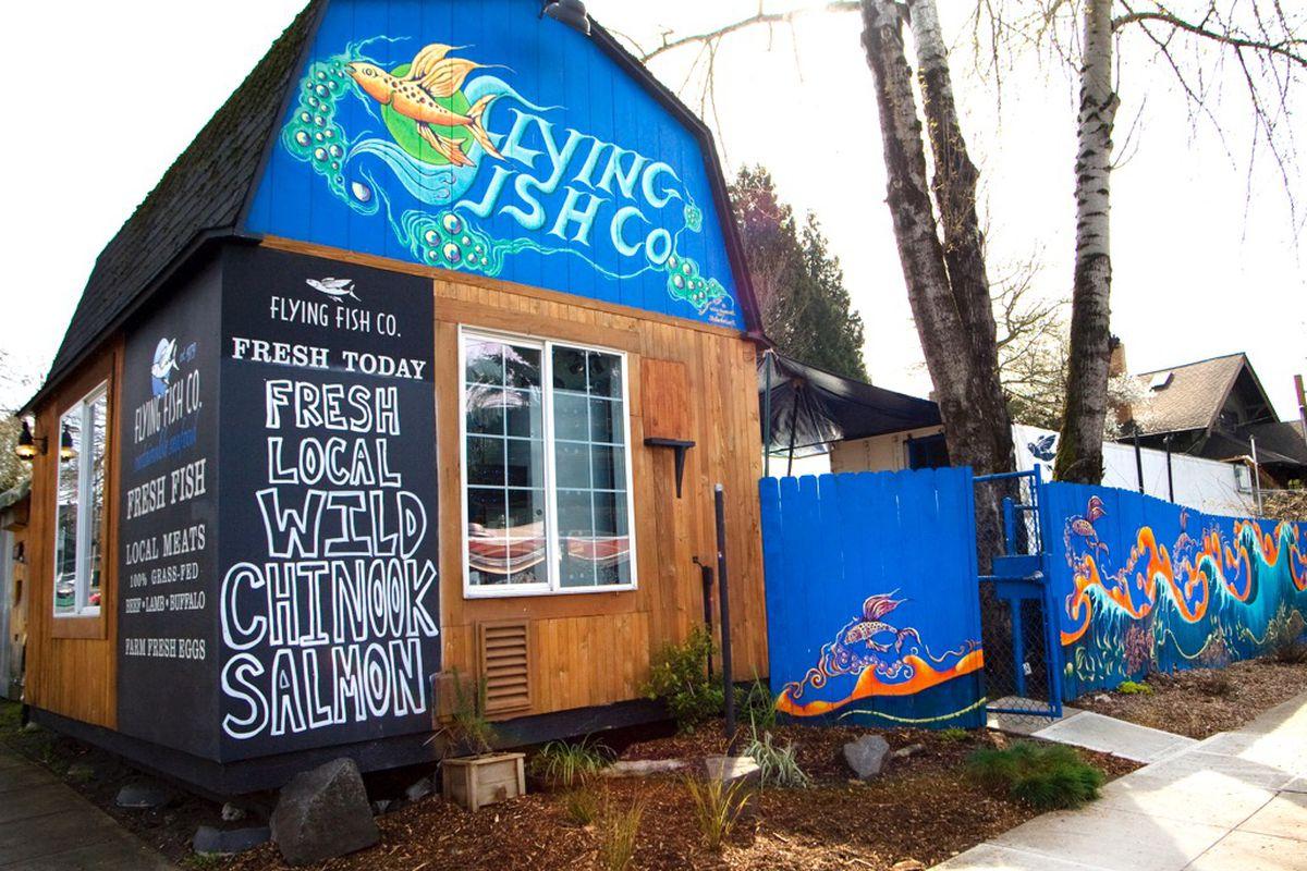 Flying Fish Company's SE Hawthorne Retail Shack