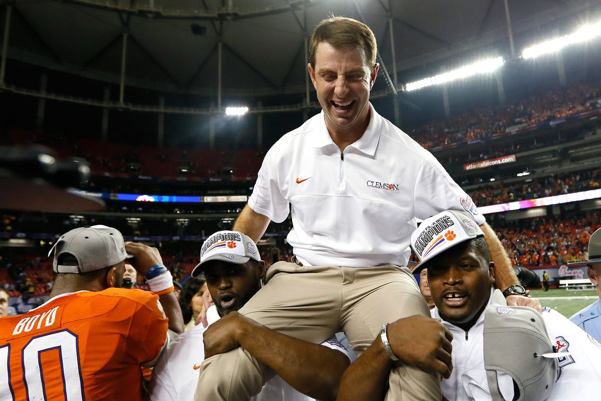 Dabo Swinney once again has offered an interesting suggestion regarding the Georgia-Clemson rivalry.