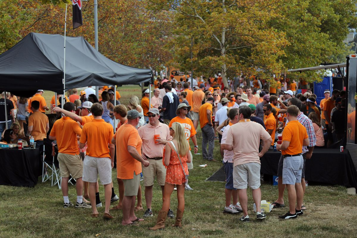 Winning the tailgate, even if the Vols aren't playing.