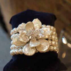 Siman Tu Pearl Bracelet - $1495