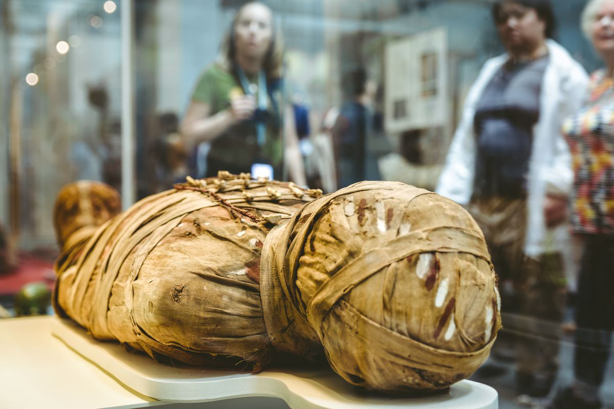 Hear the voice of an ancient Egyptian mummy, thanks to British ...