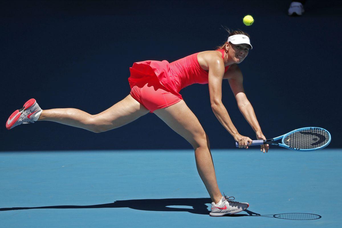 In pics: Maria Sharapova blows away Eugenie Bouchard to