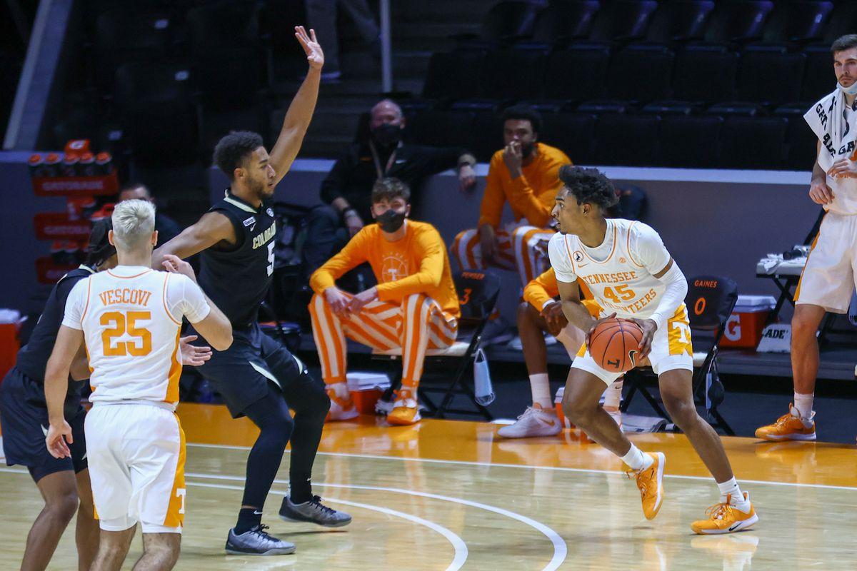 NCAA Basketball: Colorado at Tennessee
