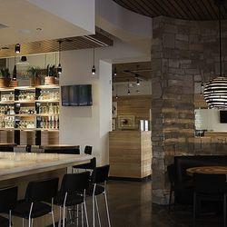 Another look at the bar at Cantina Laredo.