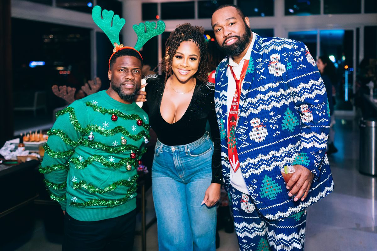 Miss Diddy and Kevin Hart