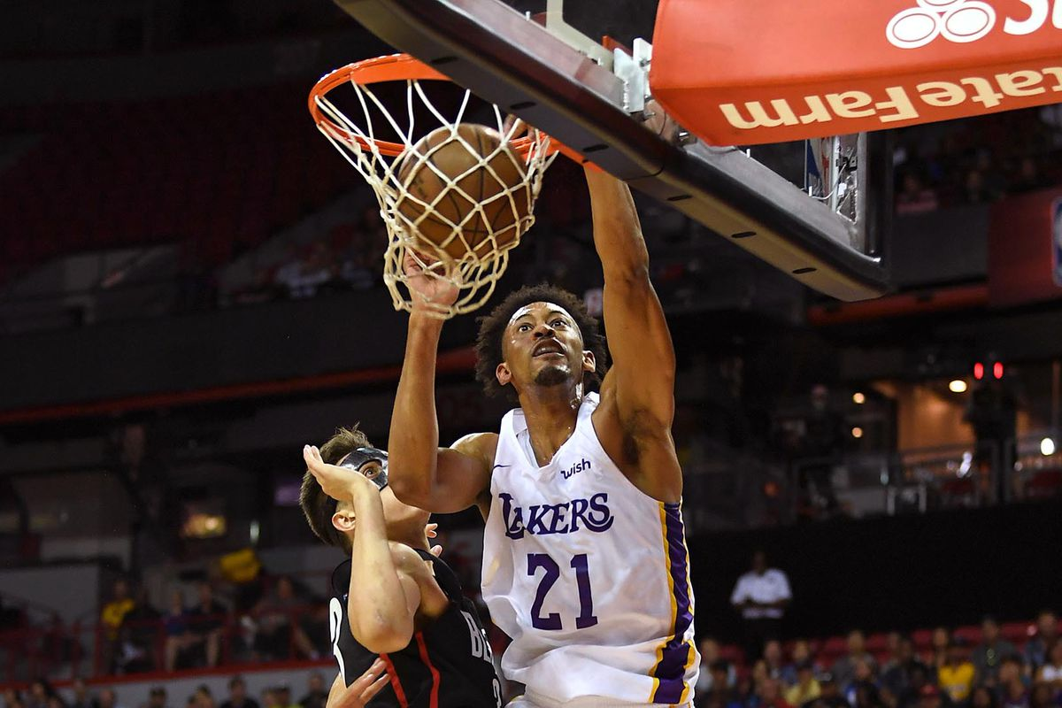 27dcaec231e Lakers add Johnathan Williams to training camp roster - Silver ...