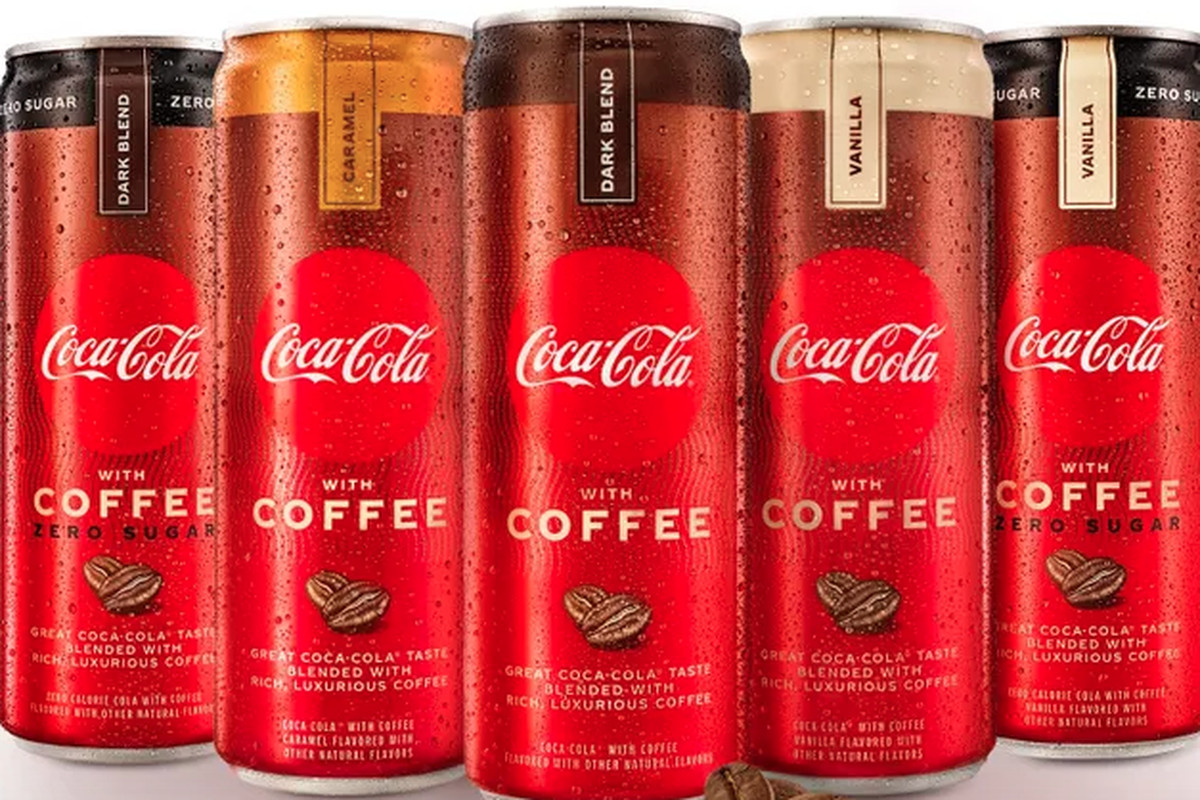 Coca-Cola with Coffee is available in three flavors — Dark Blend, Vanilla and Caramel — while the zero-sugar, zero-calorie version comes in Dark Blend and Vanilla.