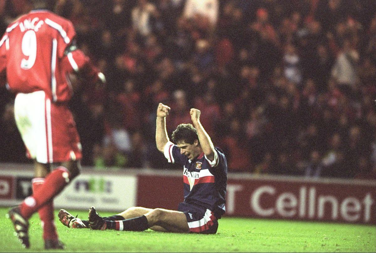 Niall Quinn of Sunderland