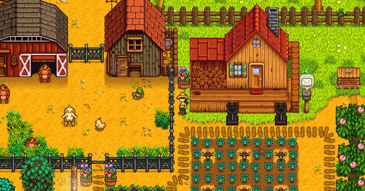 Stardew Valley multiplayer is coming along nicely, thank you very much