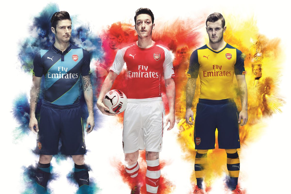 new product 83c0a b04af Arsenal's 2014/15 away kit recalls Invincibles, cup kit ...