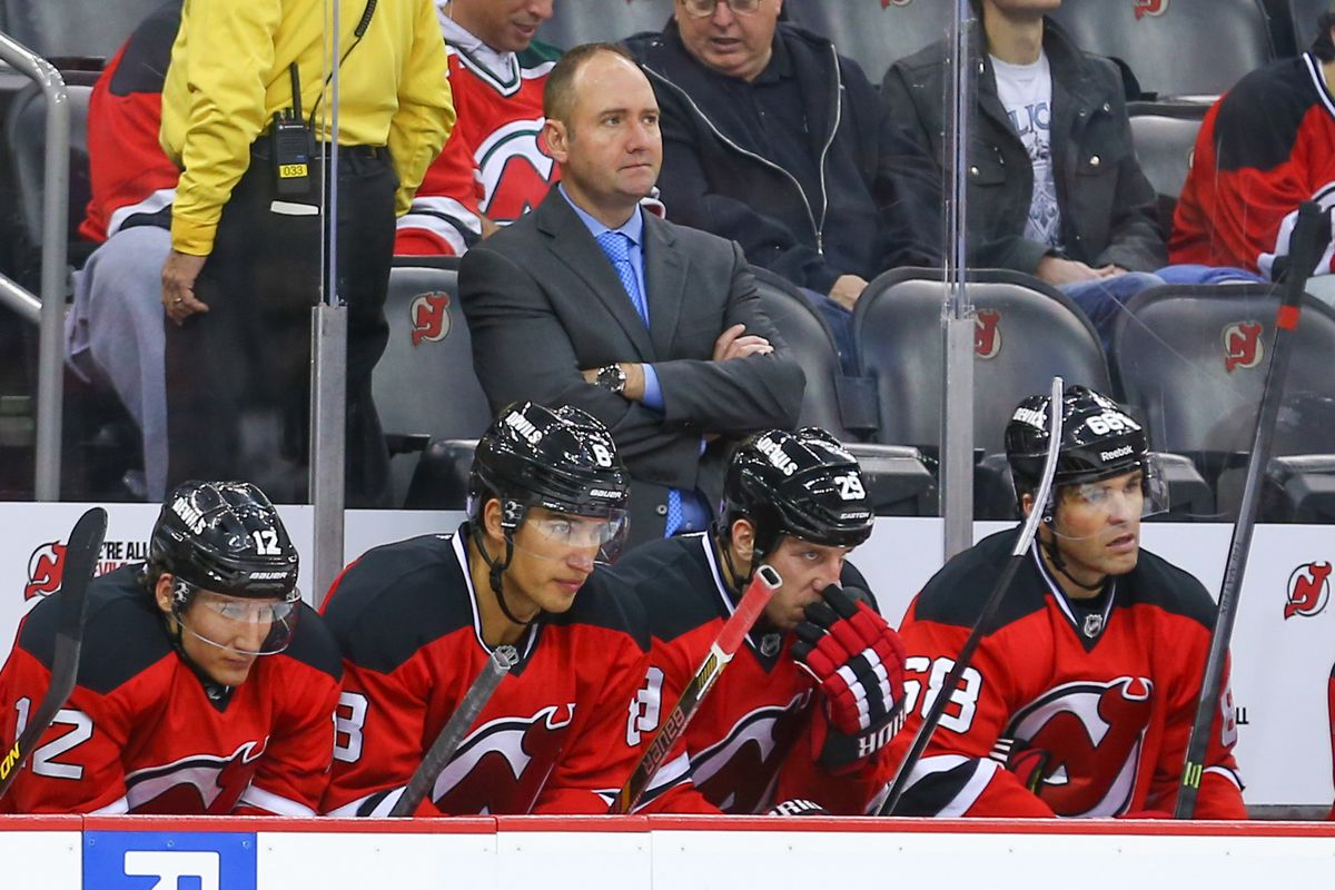 Peter DeBoer will no longer be behind the bench of the New Jersey Devils.
