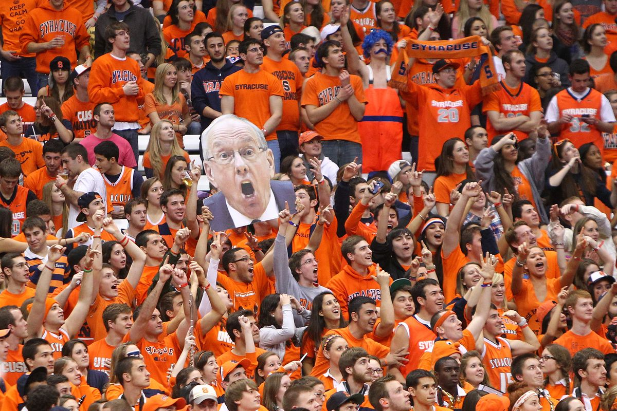 Syracuse Vs Georgetown Ncaa Attendence Record A Near Lock Troy