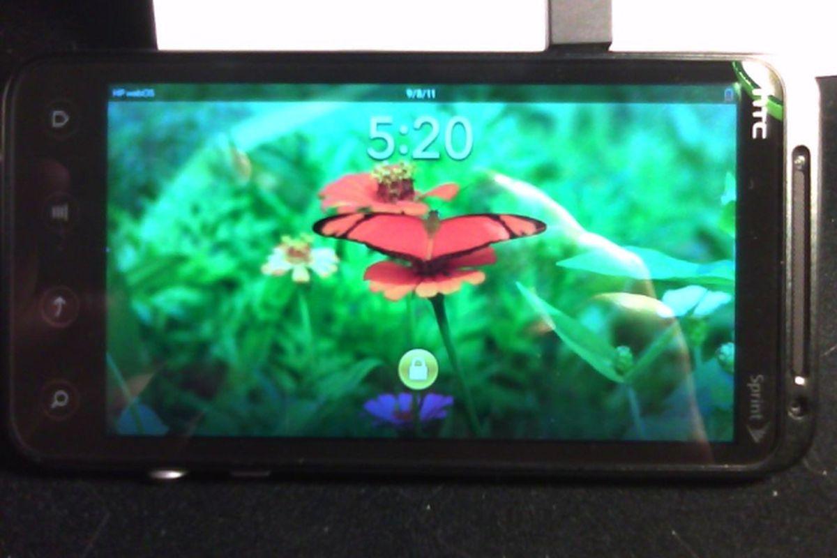 webOS Evo 3D 640