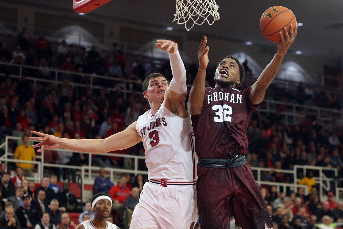 NCAA Basketball: Fordham at St. John