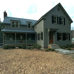 <p>The Billerica house project, which was damaged by a fire before the <em>TOH</em> crew renovated it in 1999.</p>