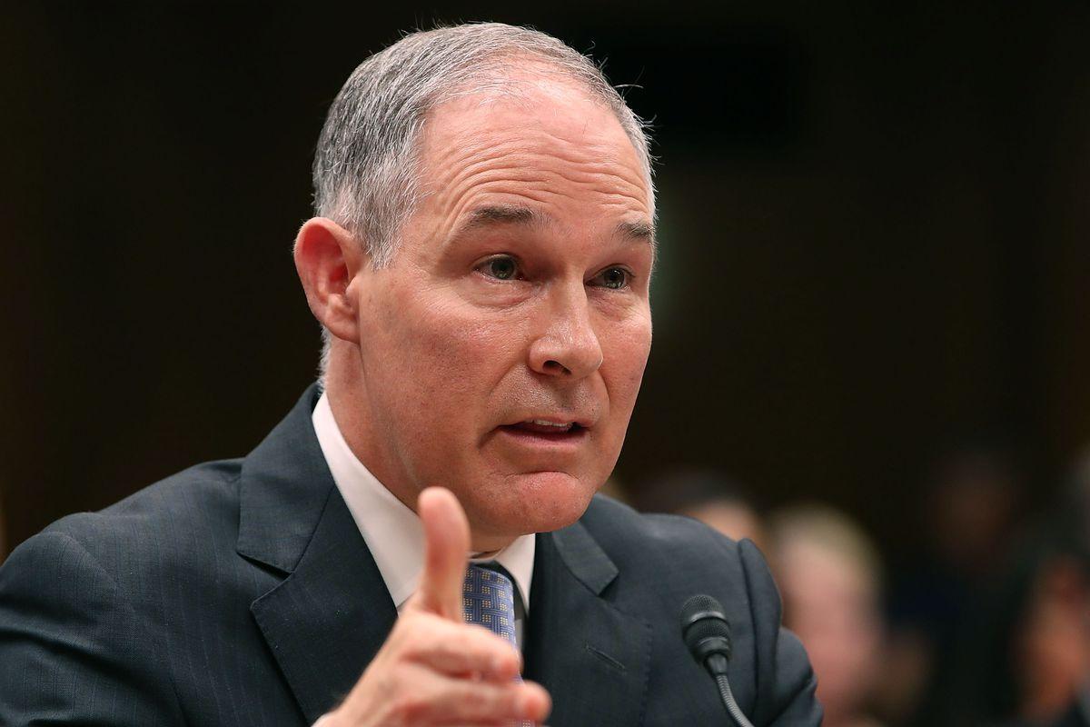 EPA Administrator Scott Pruitt Testifies Before Senate Appropriations Cmte