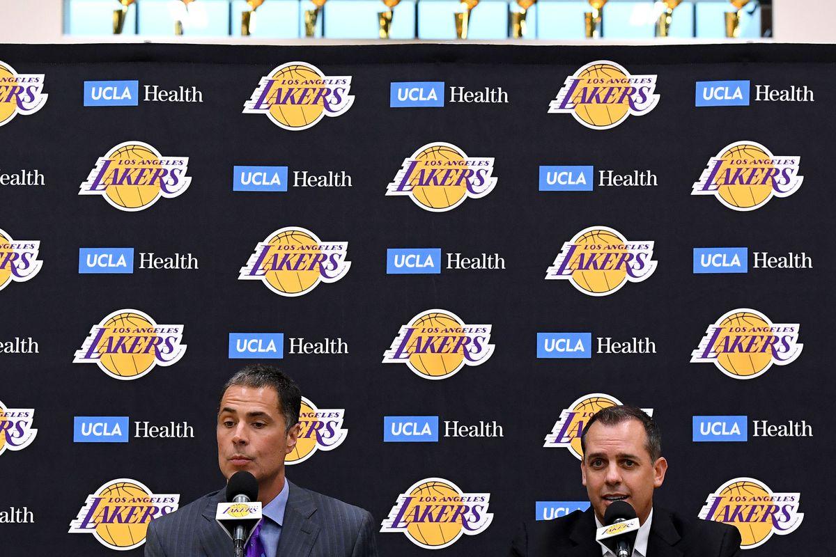 Los Angeles Lakers Introduce Frank Vogel