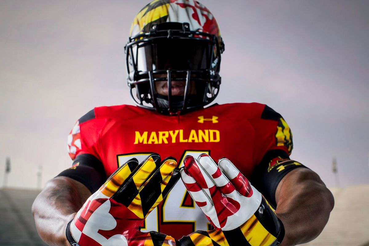 online store d1d6b 02f27 Maryland football's new Under Armour uniforms called ...