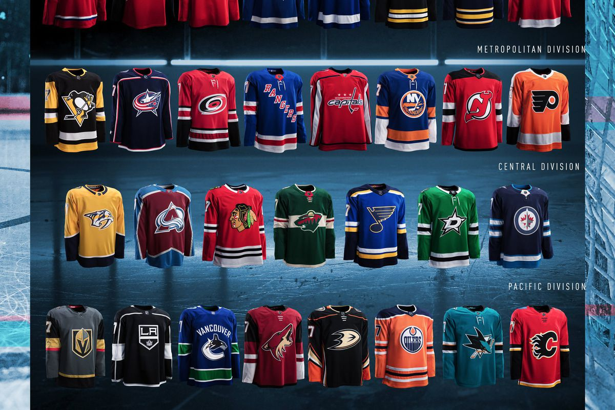 Let s get happy or angry together about every new NHL jersey design ... 76f713265
