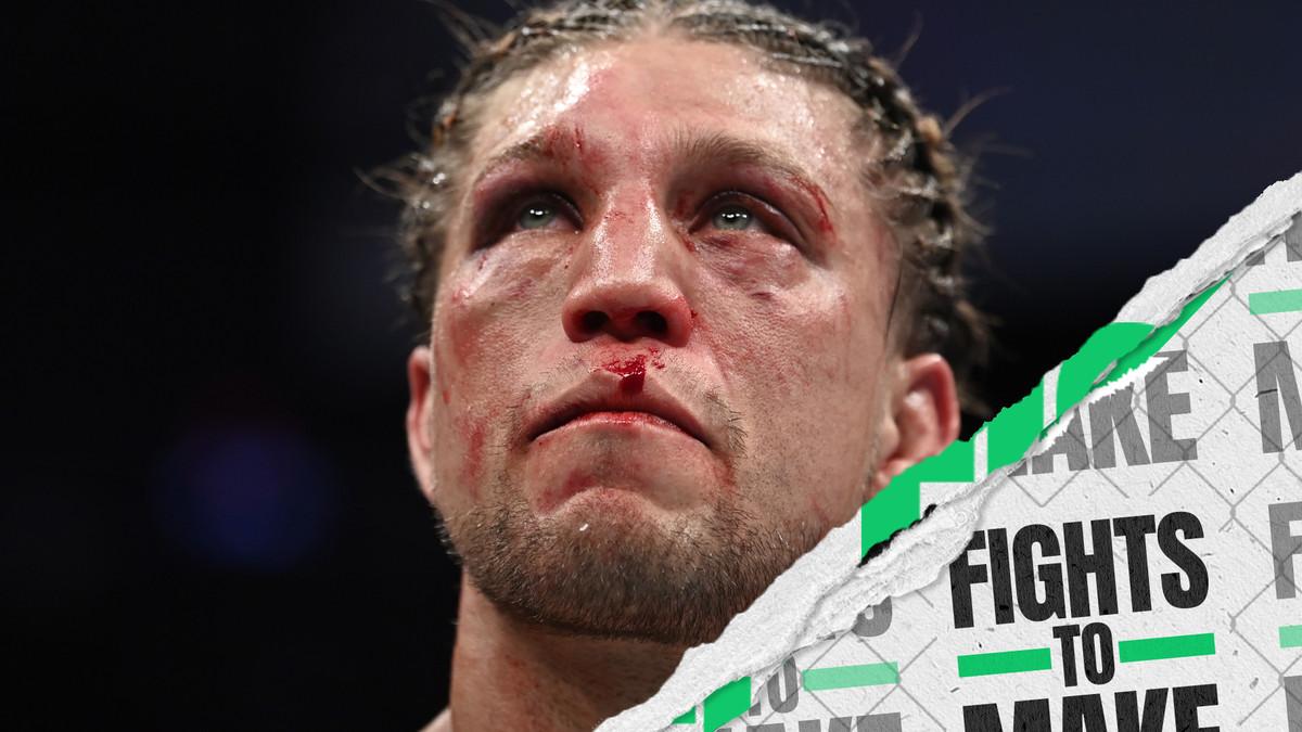 Brian Ortega after his loss to Alexander Volkanovski at UFC 266.