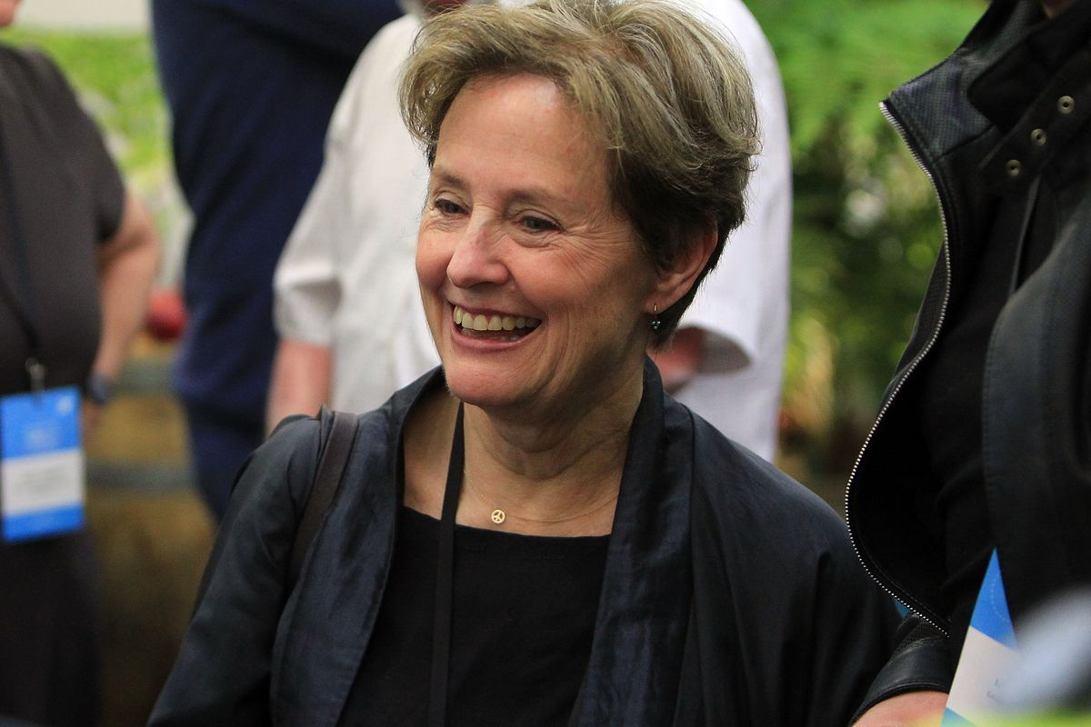 Chef Alice Waters.