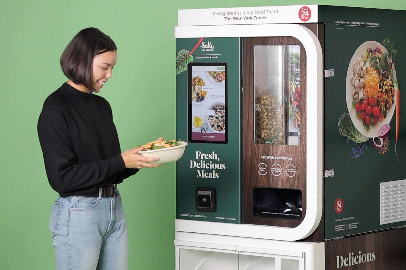 DoorDash has acquired salad-making robot company Chowbotics
