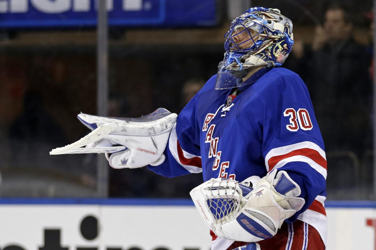 Should Henrik Lundqvist Be Considered For The Vezina Yes Yes He