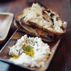 """Locanda Verde sheep's milk ricotta by <a href=""""http://www.flickr.com/photos/thecheshiresmileeats/5331652939/in/pool-29939462@N00/"""">the cheshire smile eats (and drinks)</a>"""