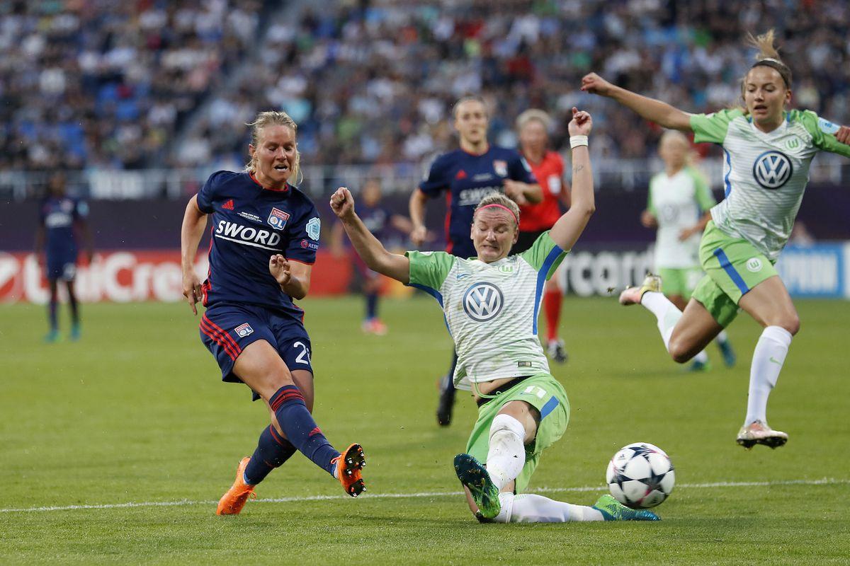 "UEFA Women's Champions League""VfL Wolfsburg women v Olympique Lyonnais women"""