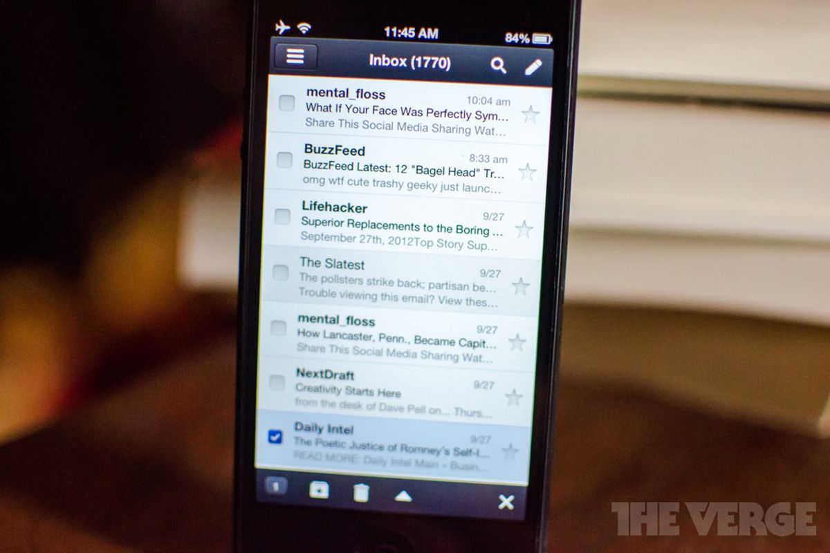 lifehacker best email app iphone