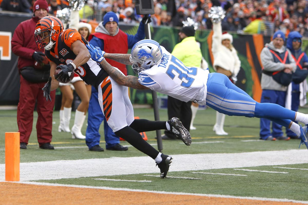 What do the Detroit Lions need from Teez Tabor this season?