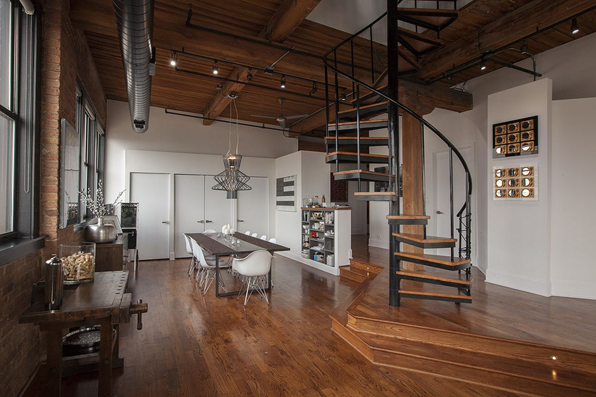 A West Loop Timber Loft Grows Into Fabulous Family Home