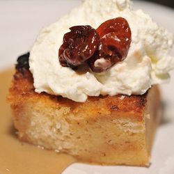Sour cherry bread pudding at the Appellation Trail.