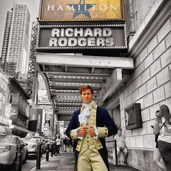 """Thayne Jasperson is currently a member of the cast of Broadway's """"Hamilton."""""""