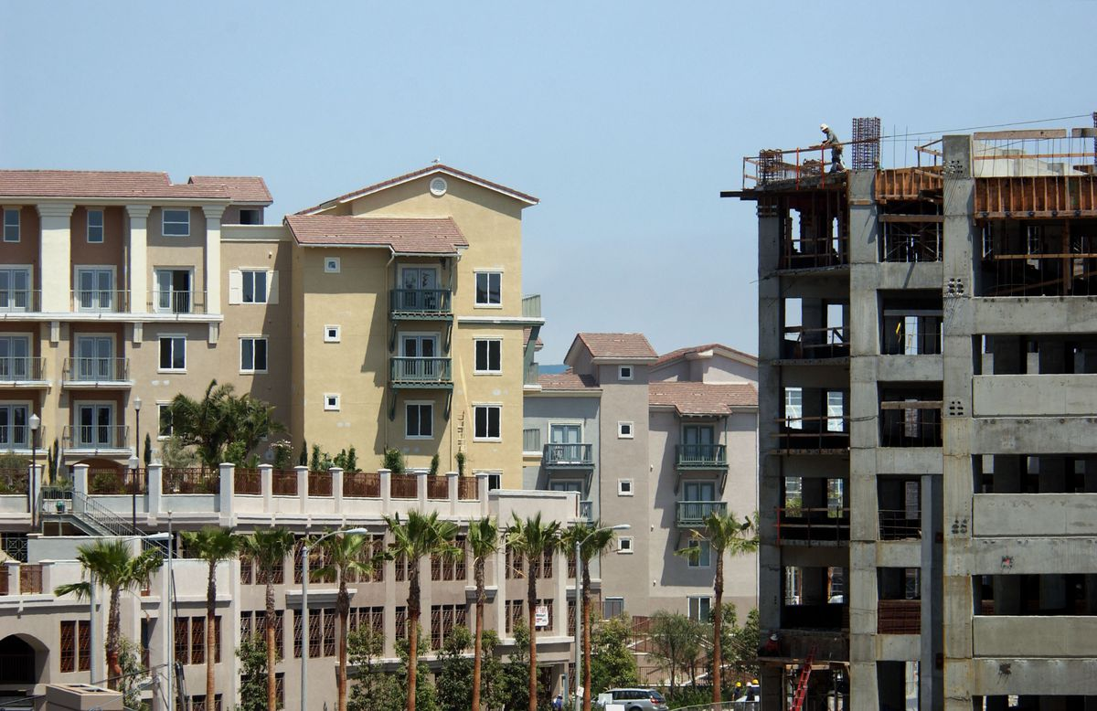 Density in Long Beach, CA.