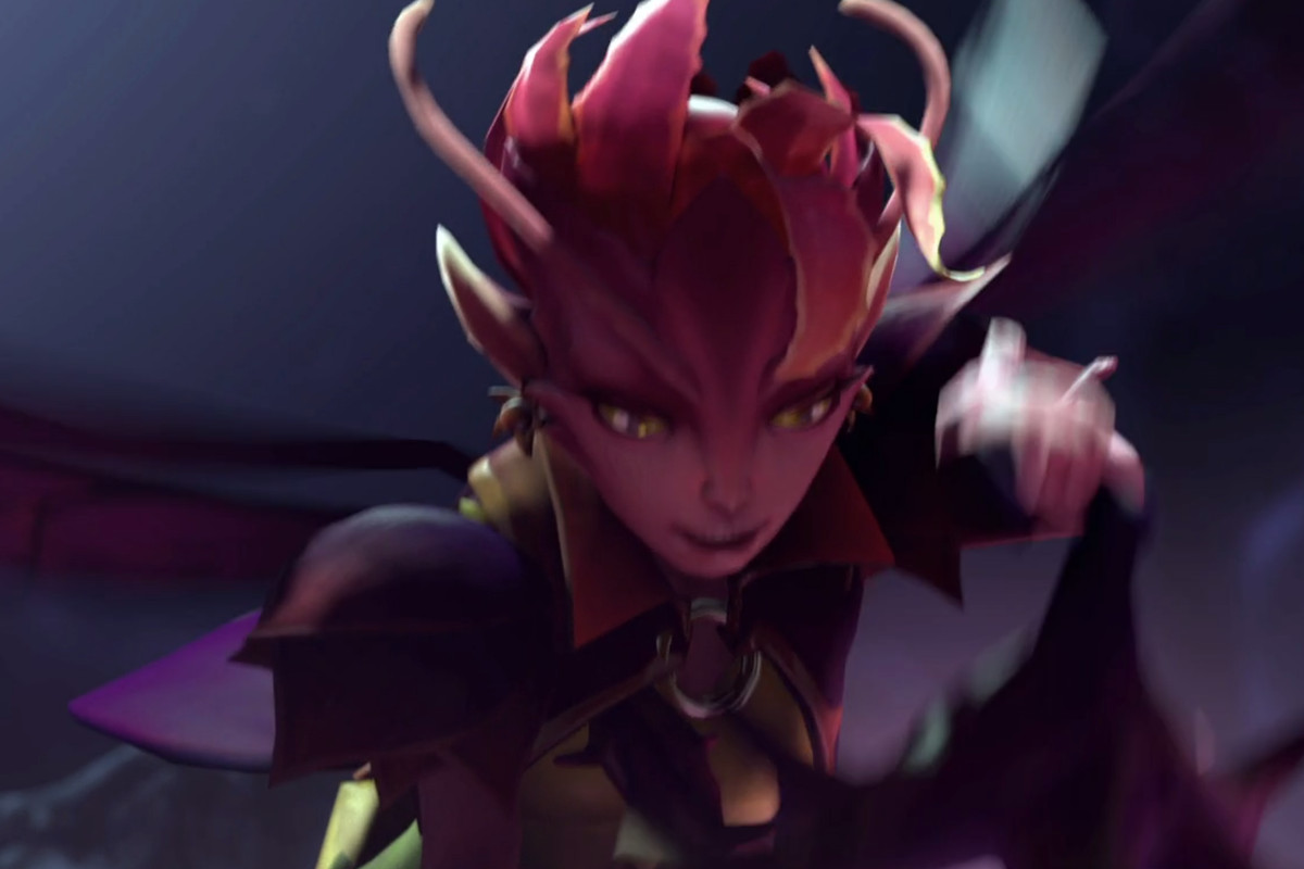 The newest hero coming to Dota 2 is Sylph     and someone