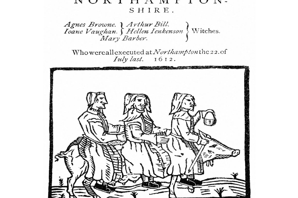 """Cover of the pamphlet """"The Witches of Northampton"""""""