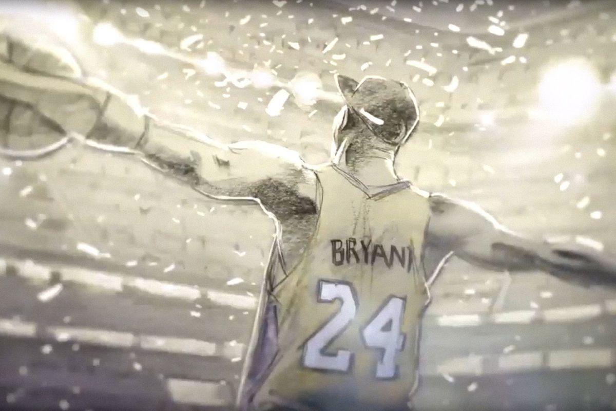kobe bryant in dear basketball