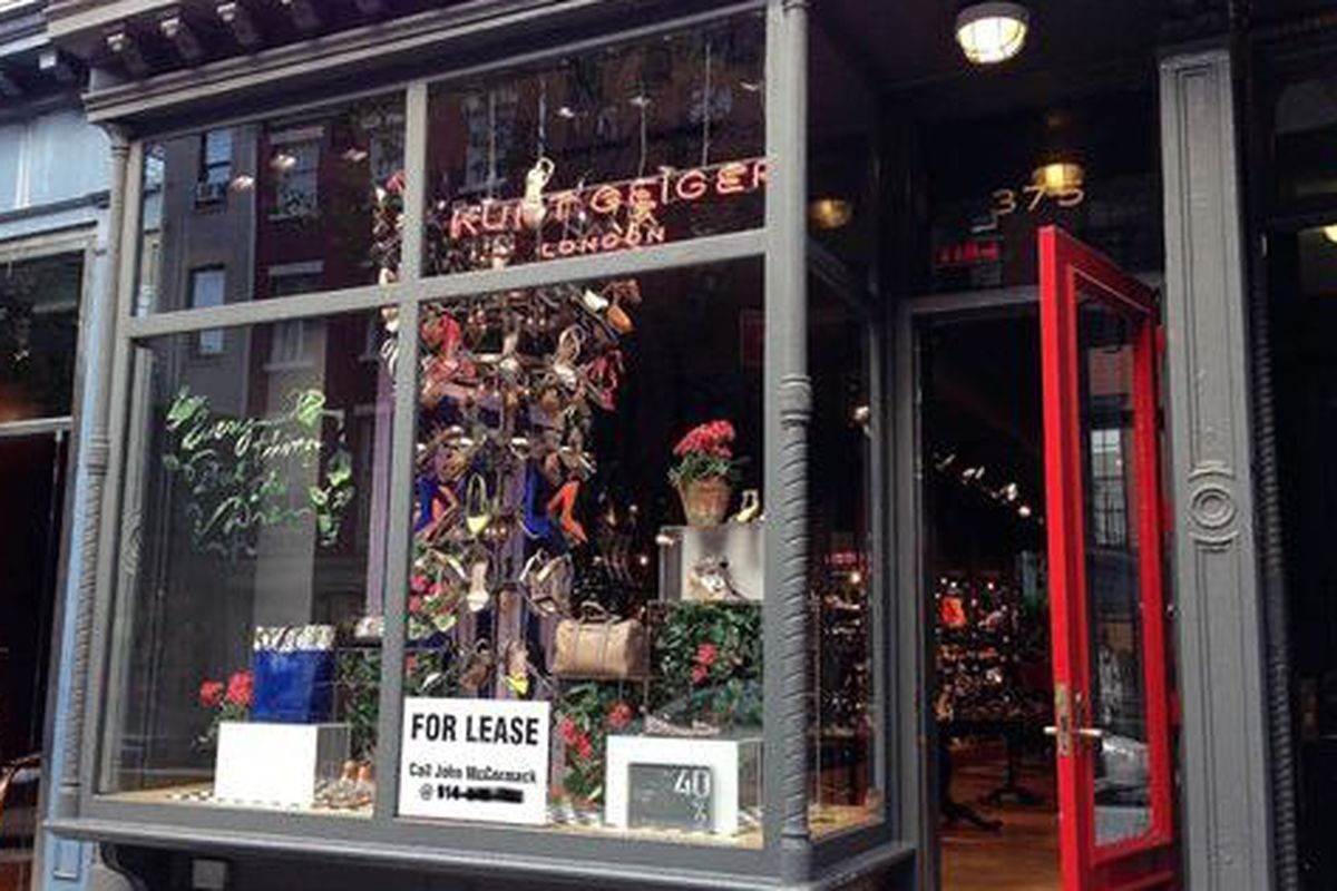 """Image via <a href=""""http://theshophound.typepad.com/the_shophound/2014/07/stepping-away-kurt-geigers-bleecker-street-store-is-looking-very-available-.html"""">The Shophound</a>"""