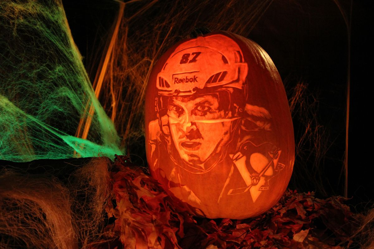 NHL Studios Pumpkin Carving