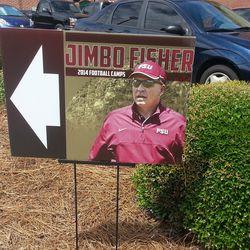 Jimbo Fisher Camp