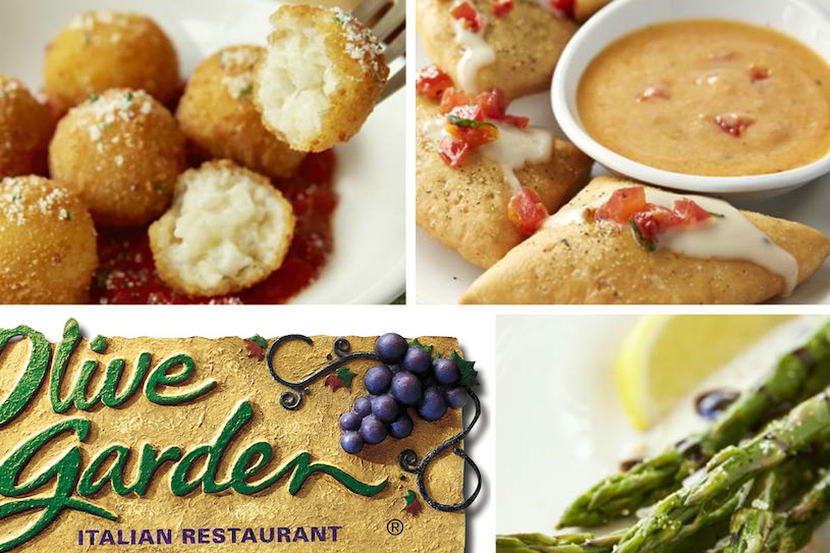 olive garden launches trendy 'tapas' menu - eater