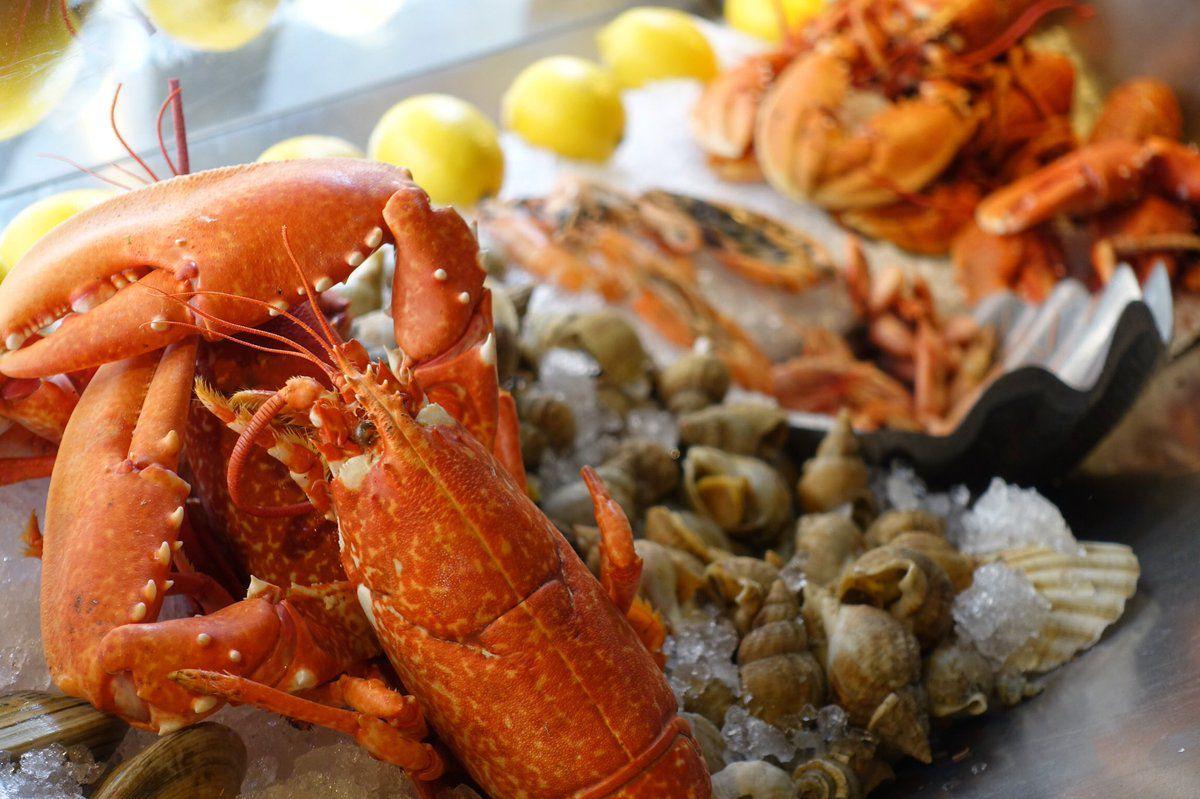 Best seafood restaurants in London: Randall and Aubin in Soho