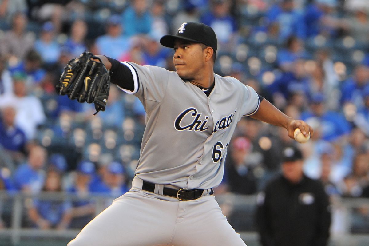 This series opens with Jose Quintana