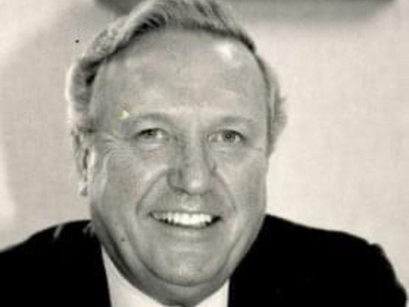 Former AFL-CIO chief Robert G. Gibson.