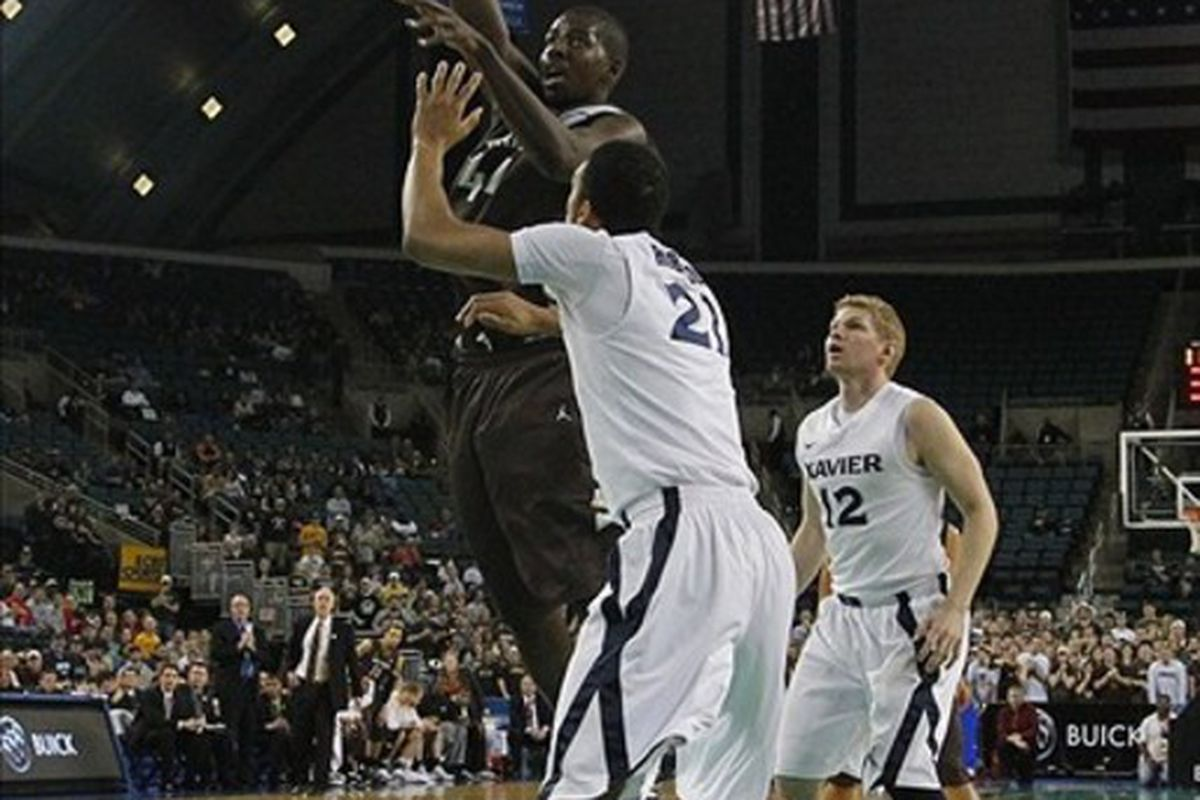 An ability to defend, a great shooting touch and some good measurements seem to have Andrew Nicholson on the lips of some media people not named Can Ball Ray ... <em> Mandatory Credit: Jim O'Connor-US PRESSWIRE</em>