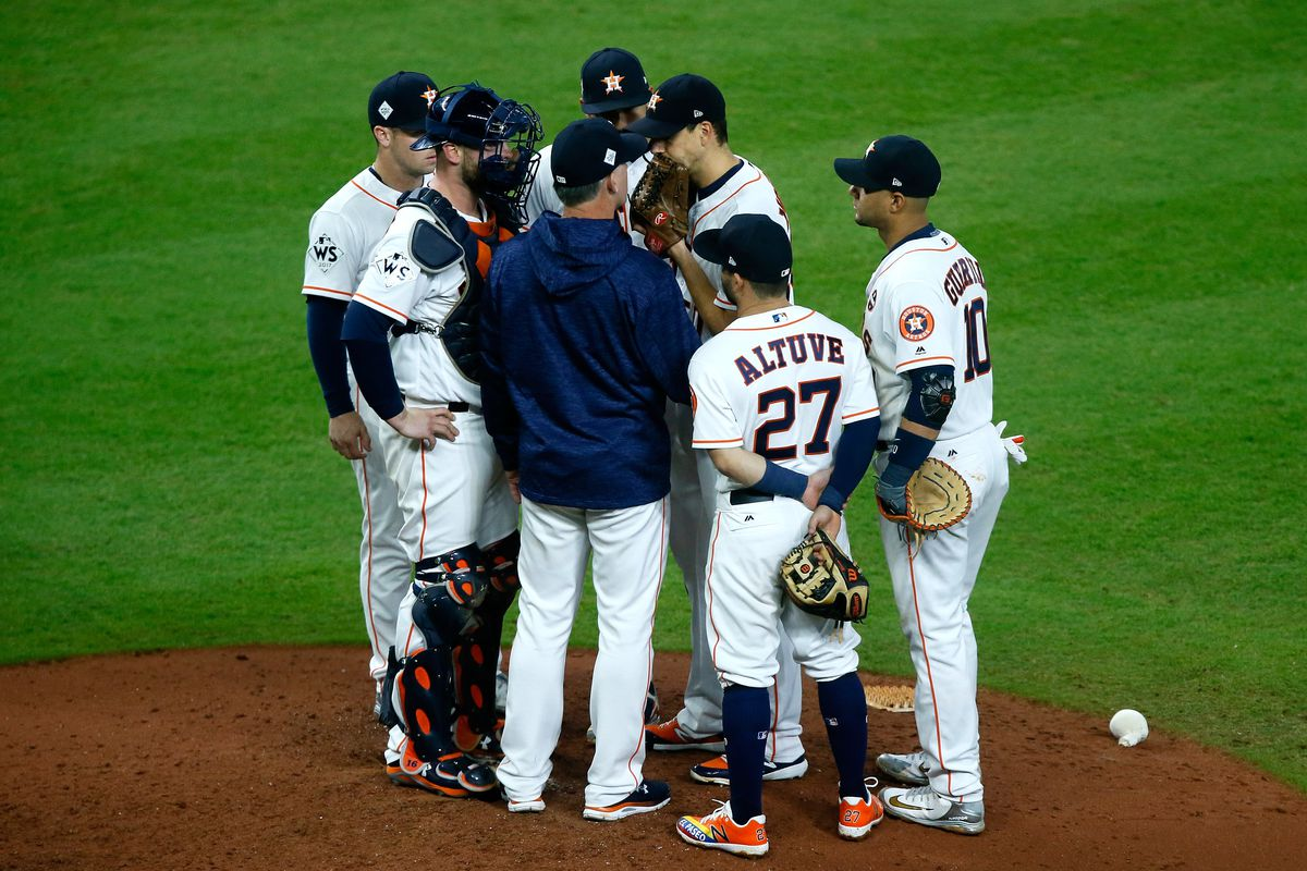 World Series - Los Angeles Dodgers v Houston Astros - Game Four