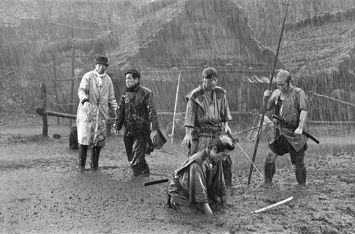 Still from Akira Kurosawa's Seven Samurai