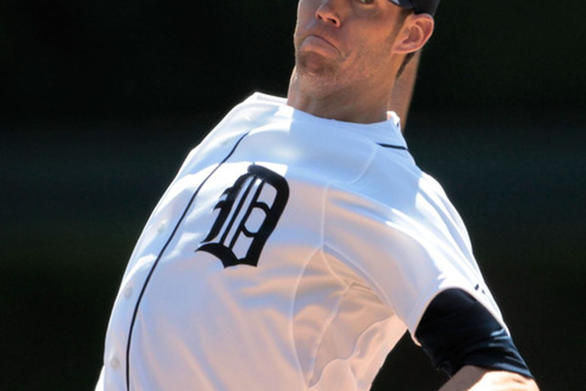 Doug Fister is scheduled to start Saturday